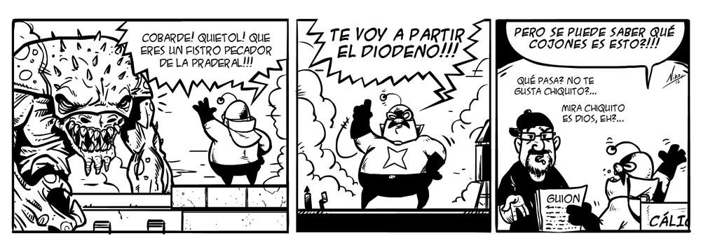 ESET España NOD32 Antivirus - Tira cálico electrónico humor seguridad 23