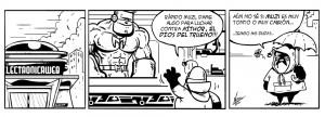 ESET España - Tira cálico humor seguridad