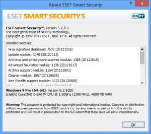 ESET españa nod 32 antivirus windows 8 1