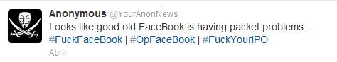 ESET España - Anonymous reivindica caída Facebook