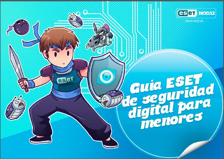 eset-nod32-antivirus-españa-guia-seguridad-digital-para-menores