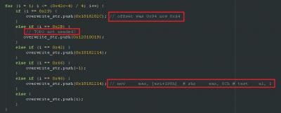 Imagen 2 Extracto de código del exploit  para la vulnerabilidad CVE-2014-1776