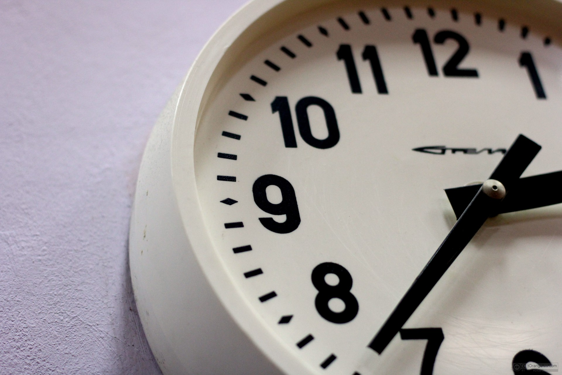 Reloj de oficina