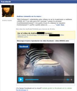 ESET España NOD32 Antivirus ¿Facebook lanza un reproductor de vídeo? Nuevo spam de Facebook propaga malware a través de un falso vídeo