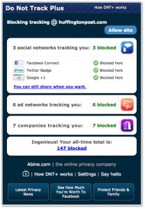 ESET España - NOD32 Antivirus - Do not track