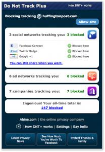ESET España - NOD32 Antivirus - Do not track