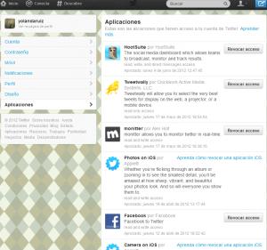 ESET España - Hackean 10000 cuentas de Twitter - Eliminar apps en Twitter